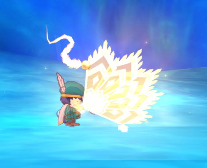 風斬りの舞
