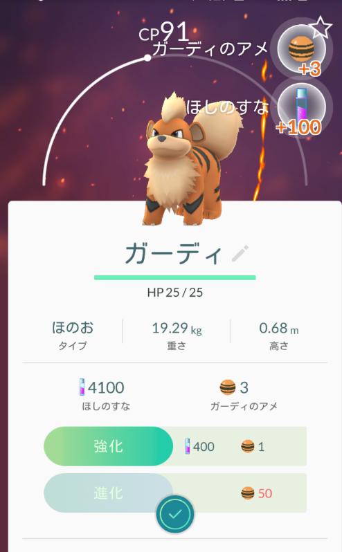 ポケモンGOガーディ