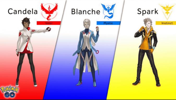 ポケモンGOチームリーダー