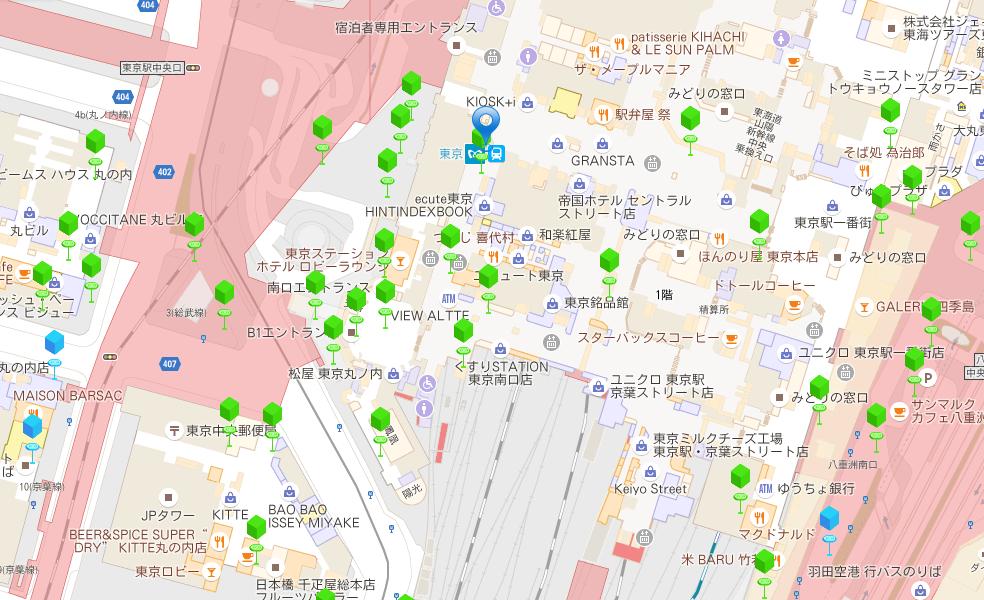 東京駅ポケストップ