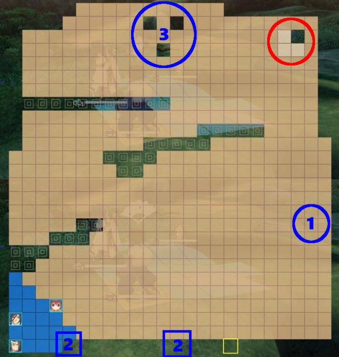 エクストラステージ4マップ