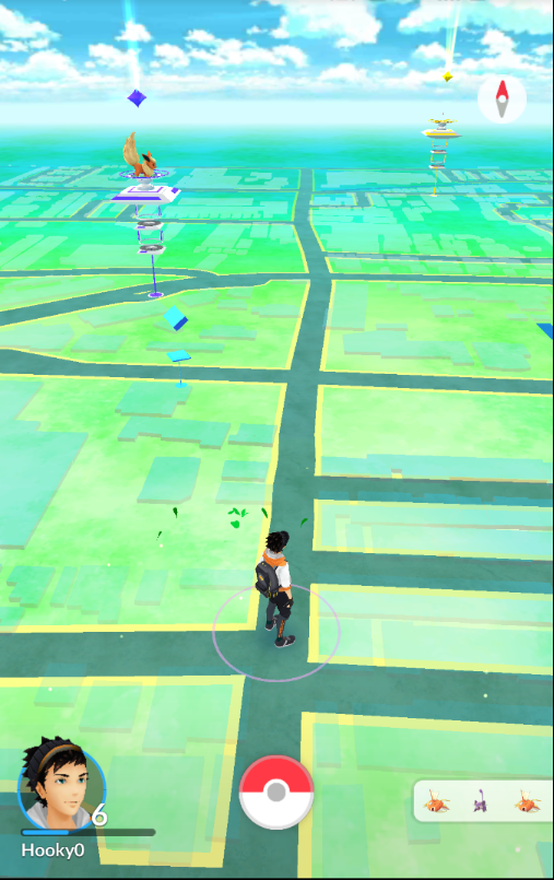 ポケGO家の近所