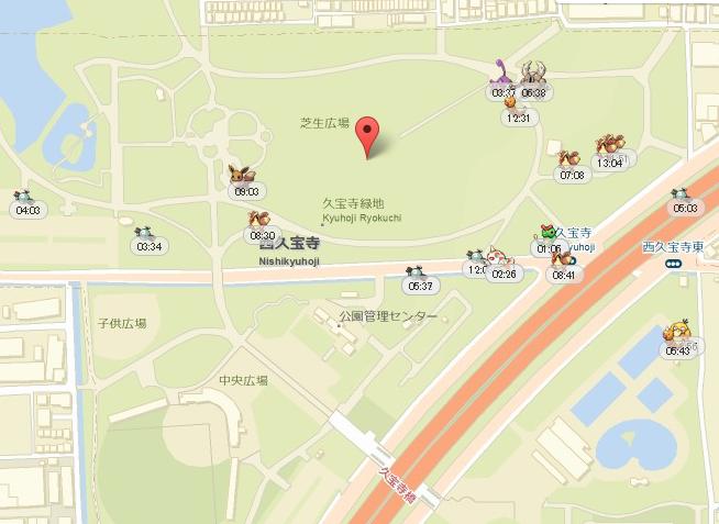 久宝寺緑地コイルの巣